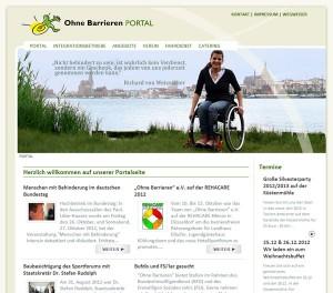 "Das Online Portal ""Ohne Barrieren"" e.V."