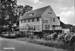 Das Forsthaus in den 60er Jahren