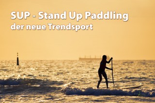 SUP - Stand Up Paddeln